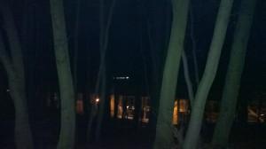 trening po zmroku - ciemno i zimno