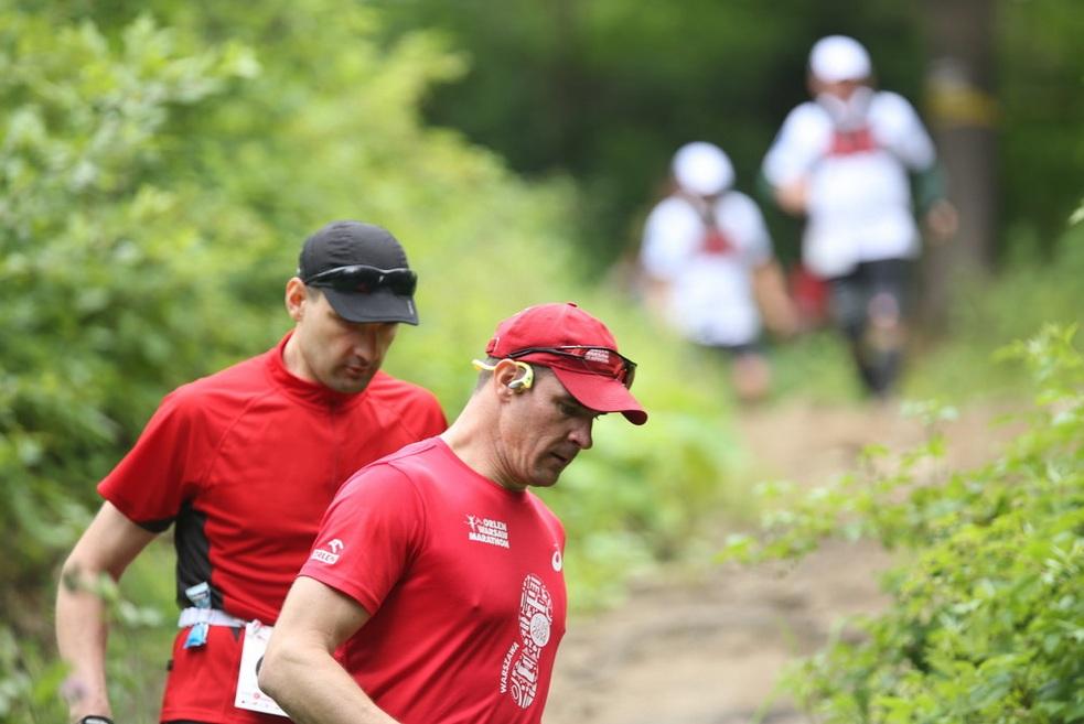 Bieg Rzeźnika 2014 dystans 77,7 km. Konrad Jaworski