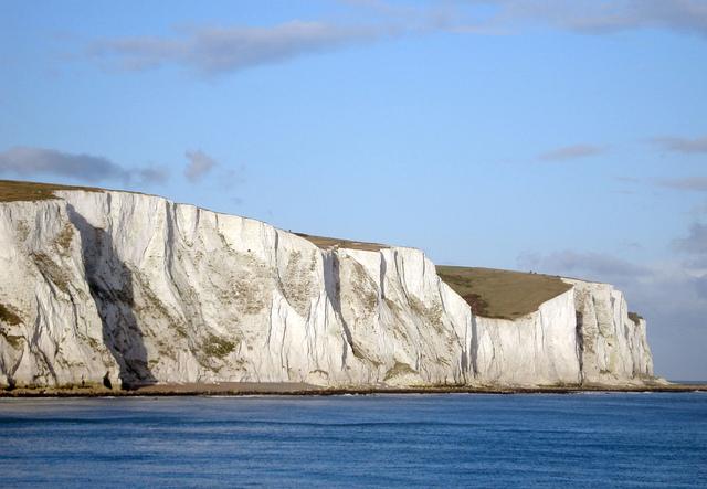 Dover - klif kredowy  źródło  www.podroze-forum.plcuda-natury