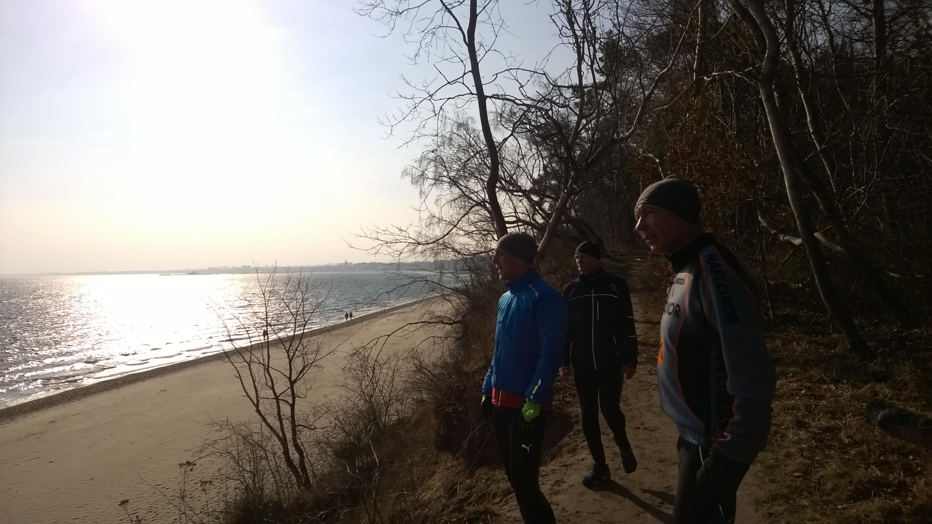nie ryzykujemy biegu po piesku jest zbyt miękko