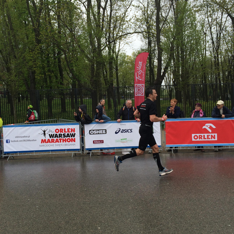 Tomek 100m przed metą
