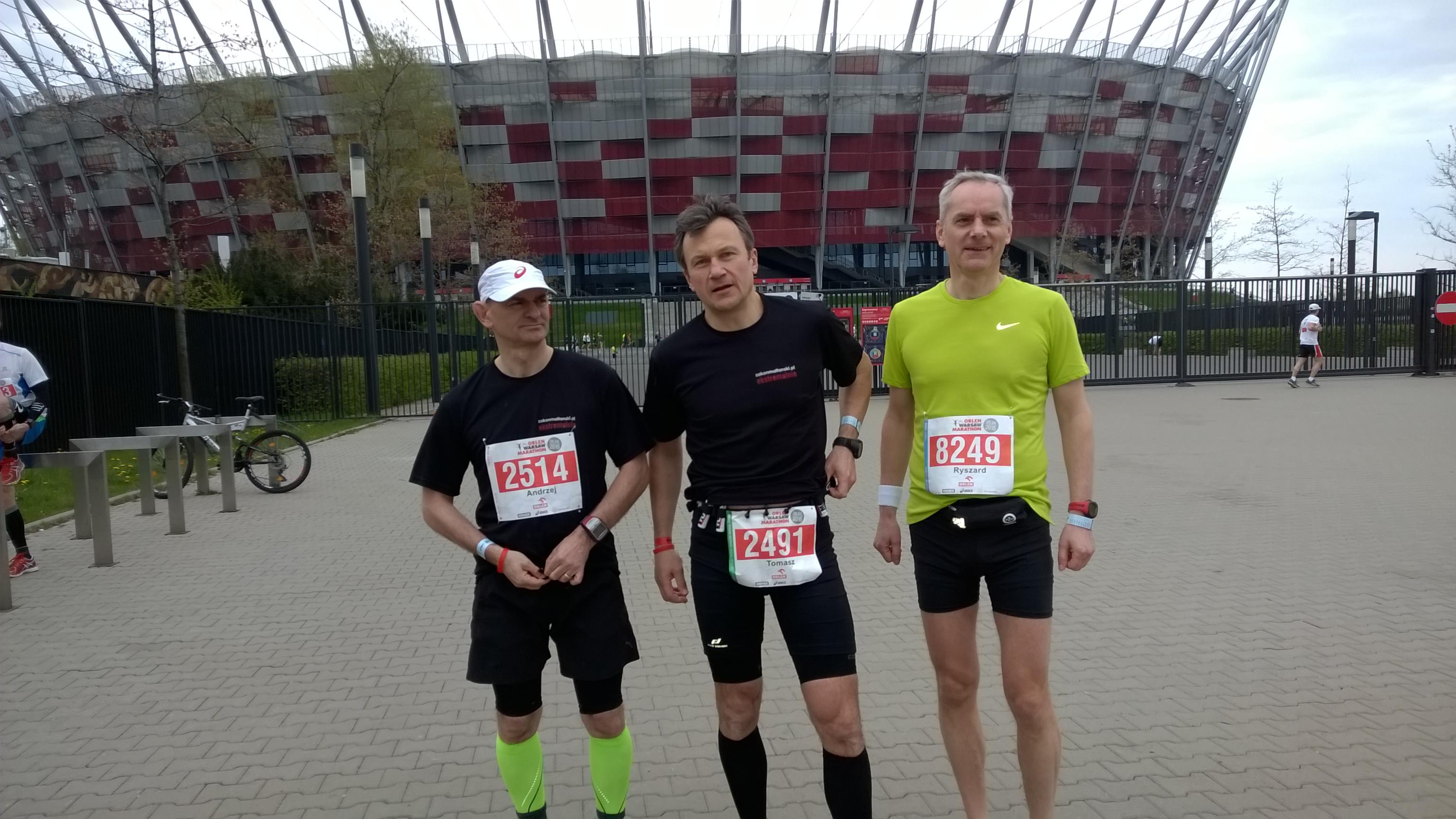 od lewej: Andrzej Tomek Rysiek